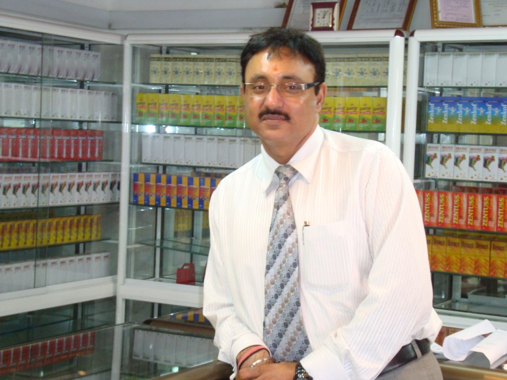 Harvinder Singh Alag, CEO of Zenufa Laboratories Ltd Photo Credit: RMH, IP-Watch)