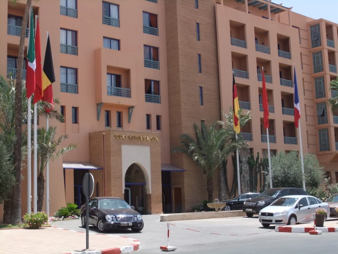 The Medina Atlas Hotel where the