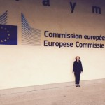 The author outside the European Commission
