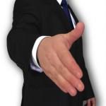 lobbying hand image