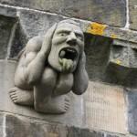 Paisley Abbey gargoyle 6
