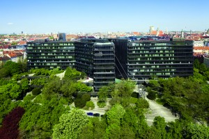 The EPO buildings, Munich