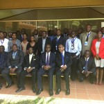 Delegates at the launch of the WIPO program in Uganda
