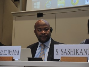 Michael Wamai, First Secretary, Permanent Mission of Uganda