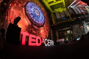 TEDx CERN at the CMS test site
