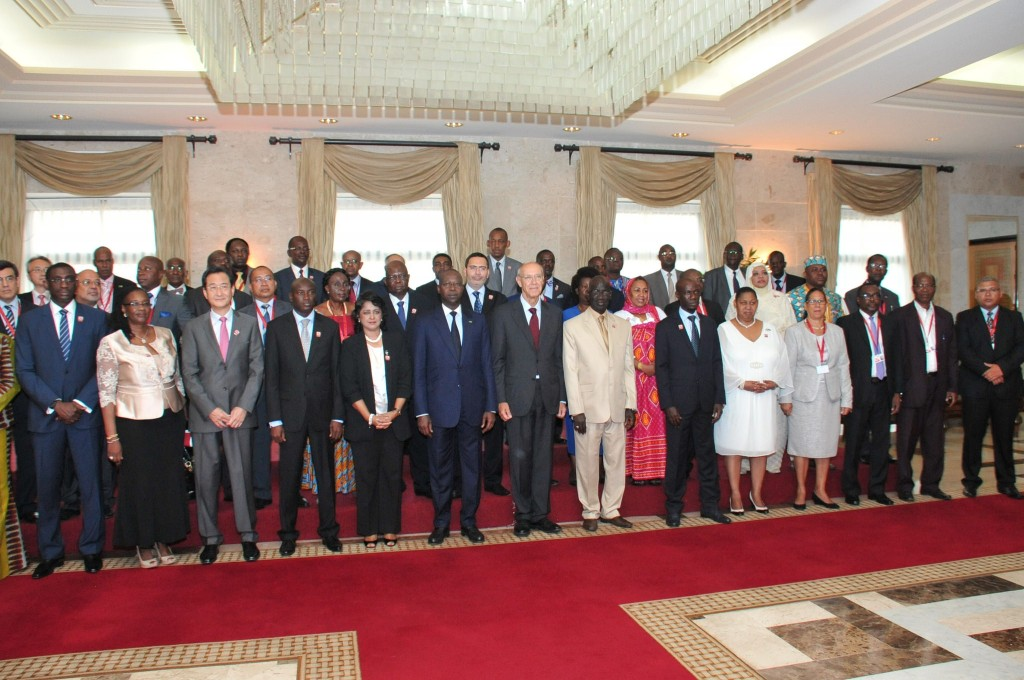 African ministers at WIPO Dakar conference