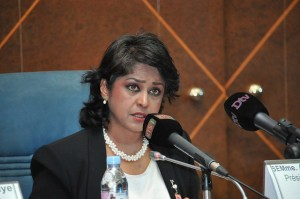 Mauritius President Ameenah Gurib-Fakim
