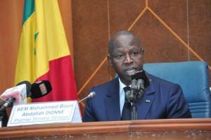 Senegal President Mahammed Boun Abdallah Dionne