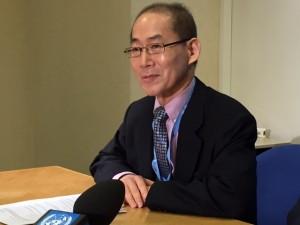IPCC Chair Hoesung Lee