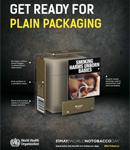 WHO Boosts Efforts For Plain Packaging